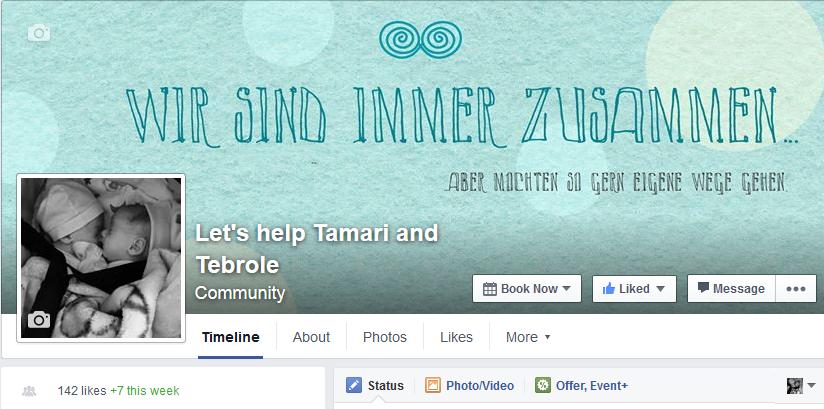 Let's help Tamari & Tebrole FB page